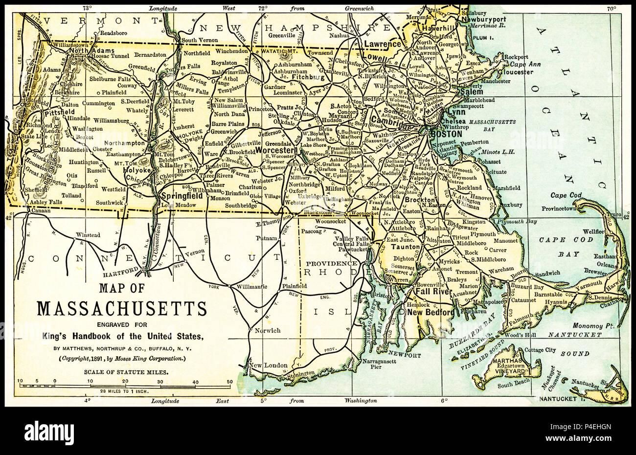 Antique Boston Map.Antique Map Of Boston Stock Photos Antique Map Of Boston Stock