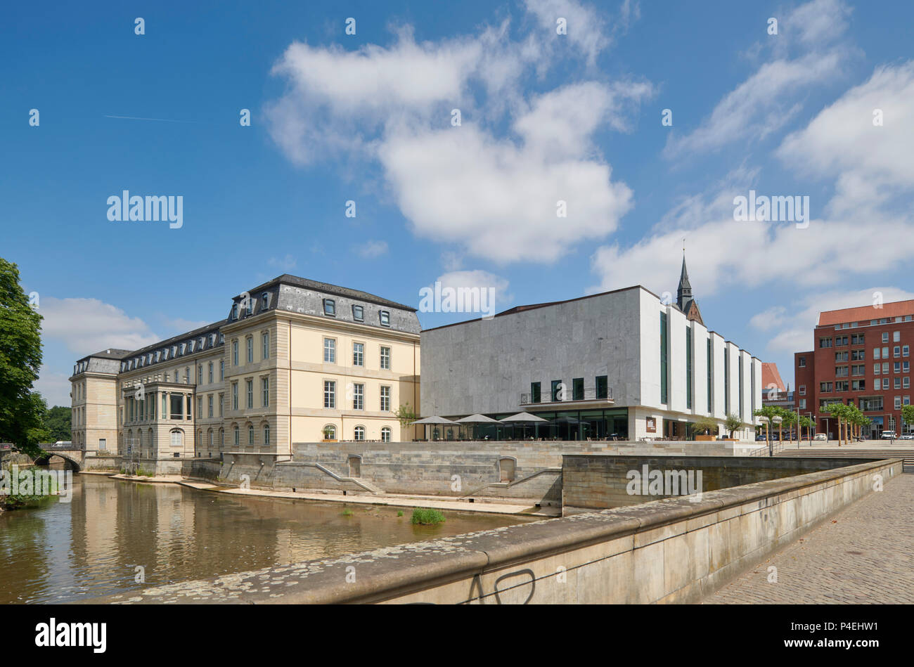 Landtag Hannover Stock Photo