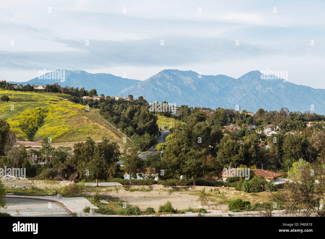 Chino hills stock photos chino hills stock images alamy cloudy day at chino hills state park los angeles ca united states stock freerunsca Image collections