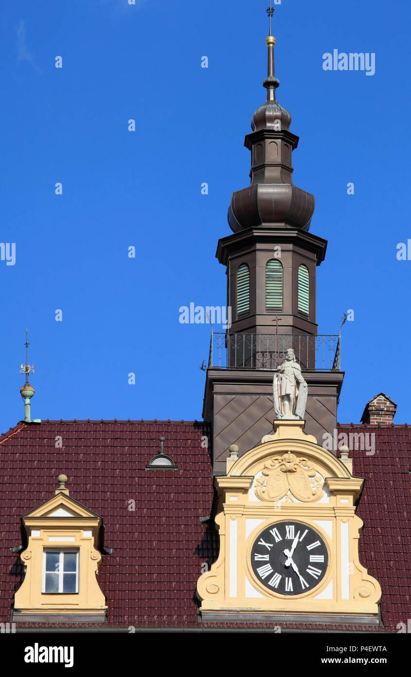 Czech Republic, Moravia, Olomouc, Archbishop Palace, - Stock Image