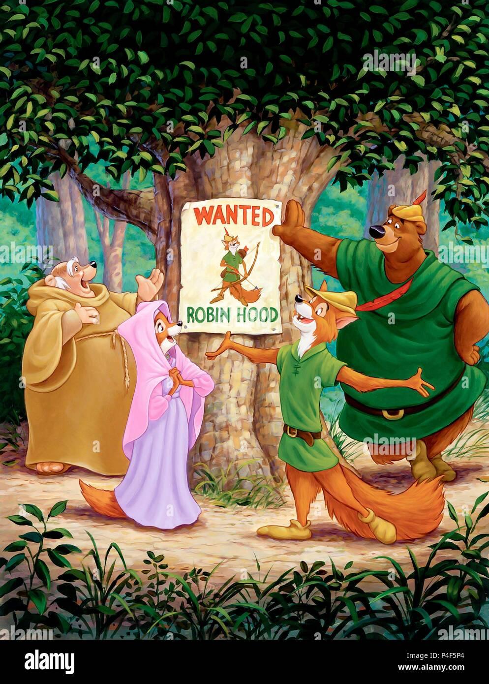 Disney Robin Hood Title Logo Www Topsimages Com
