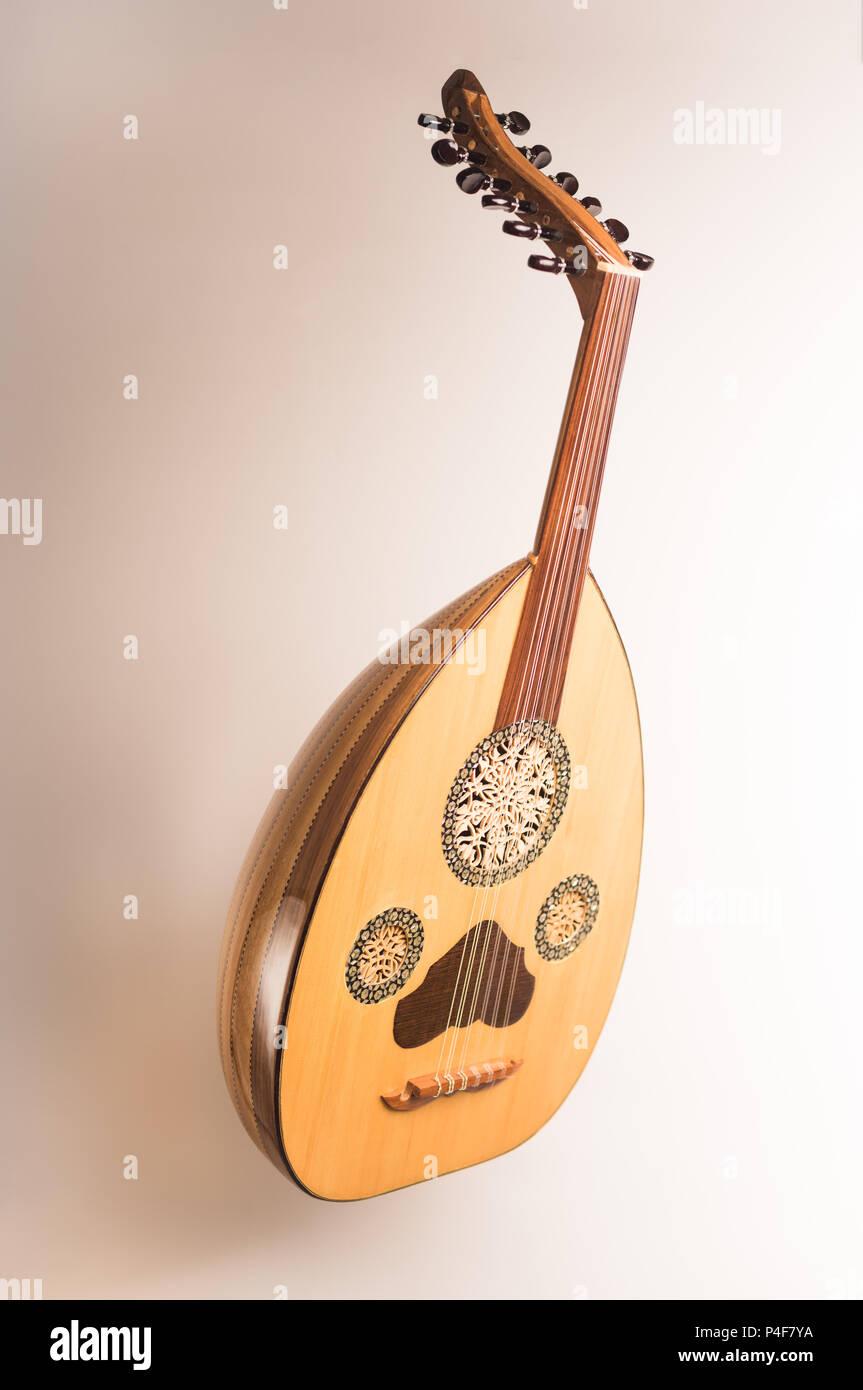 Oud Arabic Music Instrument Stock Photo: 209318574 - Alamy