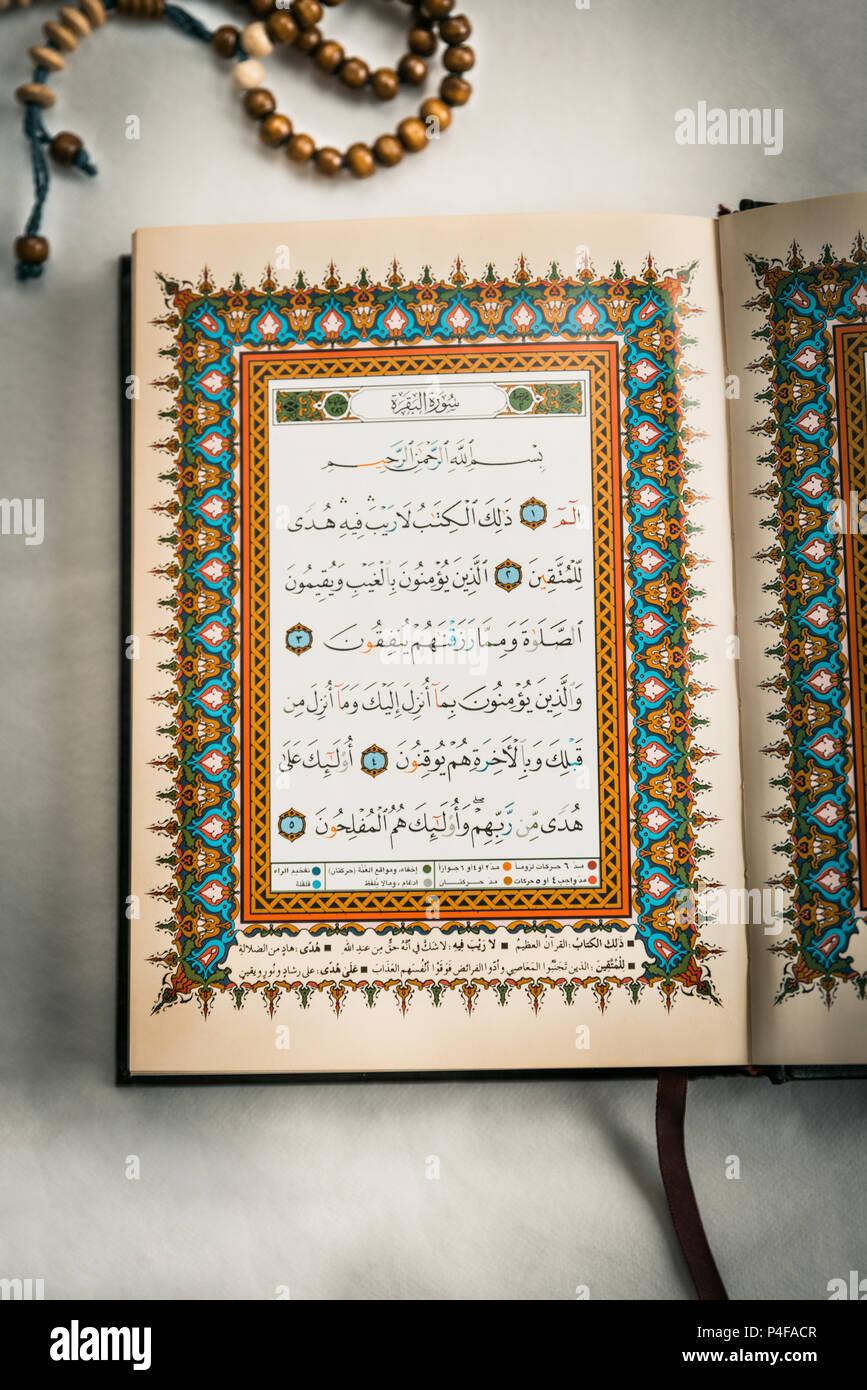 Verses Of Holy Quran Stock Photo 209320519 Alamy