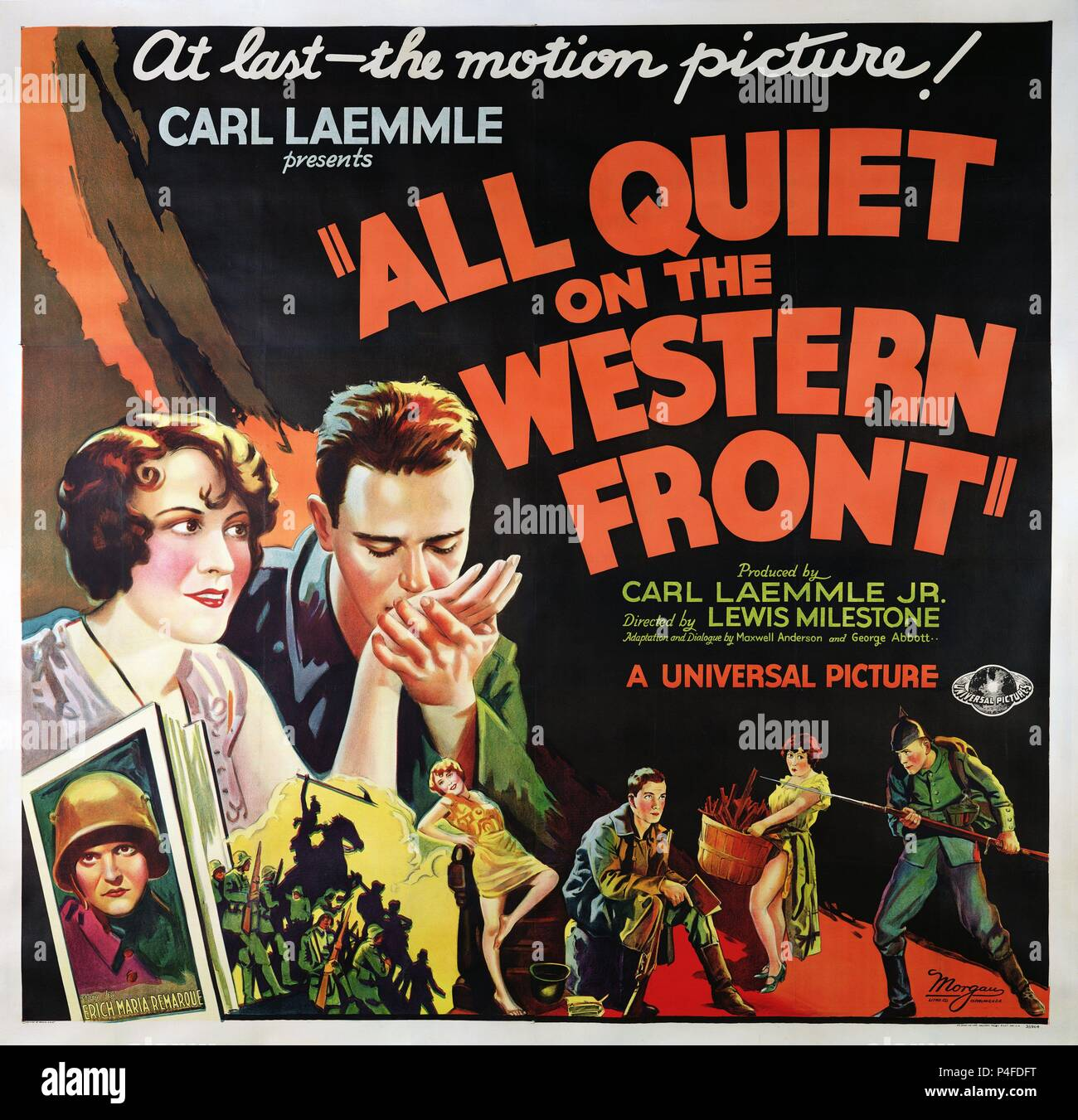 main characters in all quiet on the western front movie