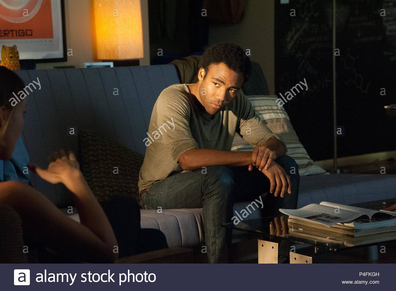Original Film Title: THE LAZARUS EFFECT.  English Title: THE LAZARUS EFFECT.  Film Director: DAVID GELB.  Year: 2015.  Stars: DONALD GLOVER. Credit: BLUMHOUSE PRODUCTIONS/LIONSGATE/MOSAIC MEDIA GROUP / Album - Stock Image