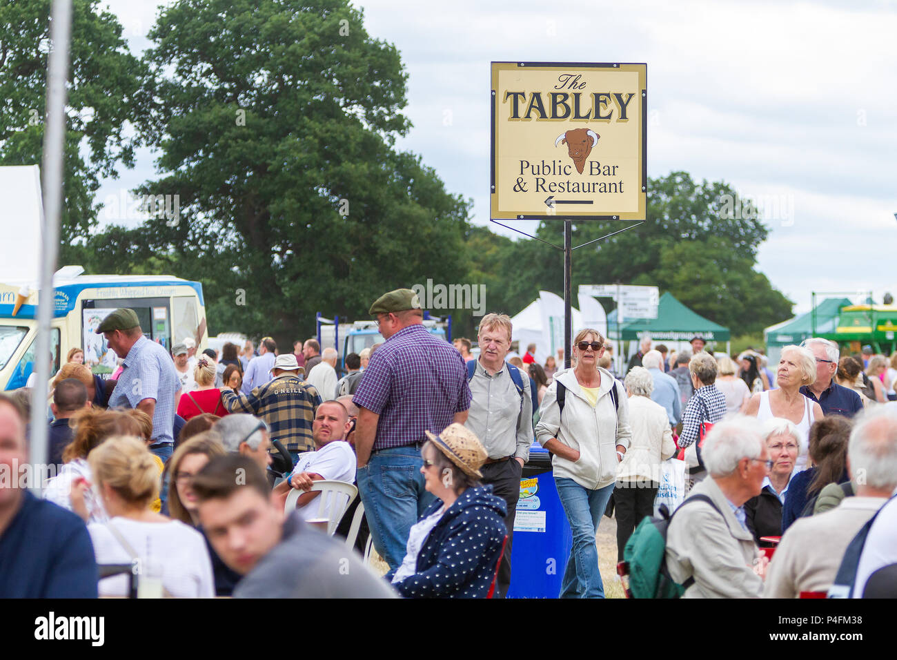 19 & 20th June 2018 - The Cheshire Showground at Clay House Farm Flittogate Lane, Knutsford hosted the 2018 Royal Cheshire County Show. The Show is ab Stock Photo