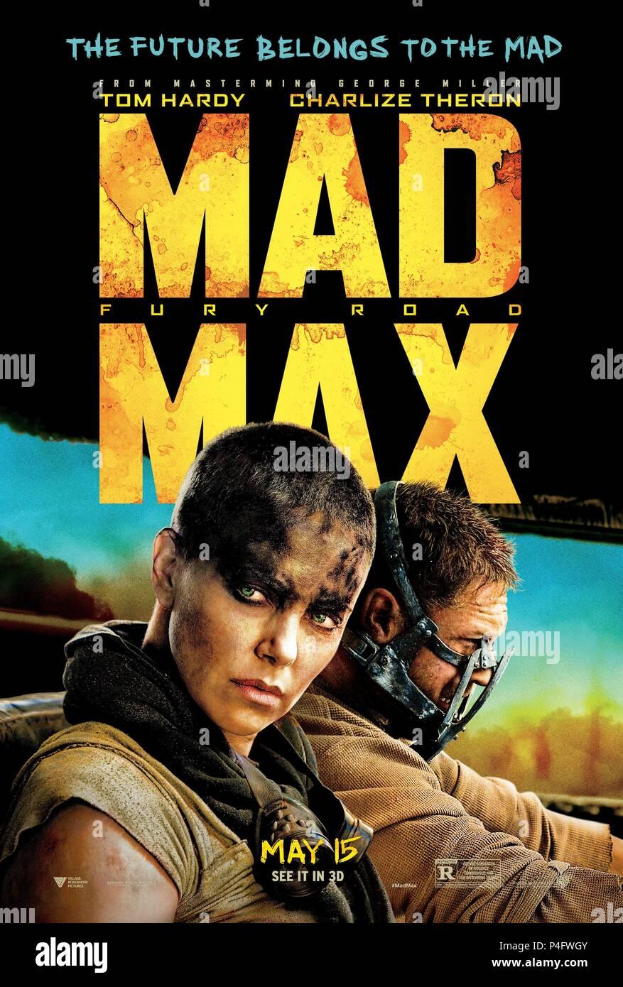 Original Film Title: MAD MAX: FURY ROAD.  English Title: MAD MAX: FURY ROAD.  Film Director: GEORGE MILLER.  Year: 2015. Credit: VILLAGE ROADSHOW / Album Stock Photo