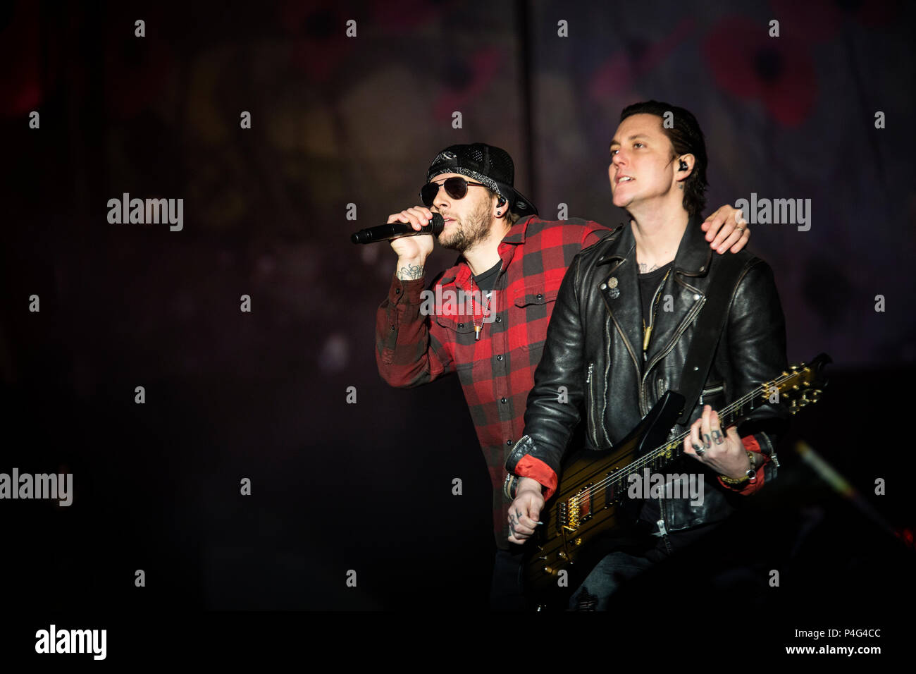 Synyster Gates Stock Photos & Synyster Gates Stock Images
