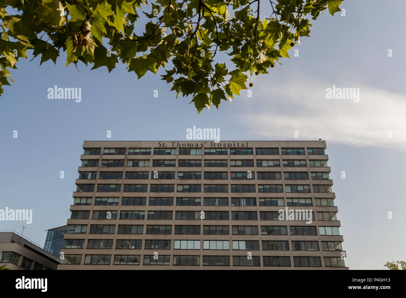 St Thomas Hospital,London - Stock Image