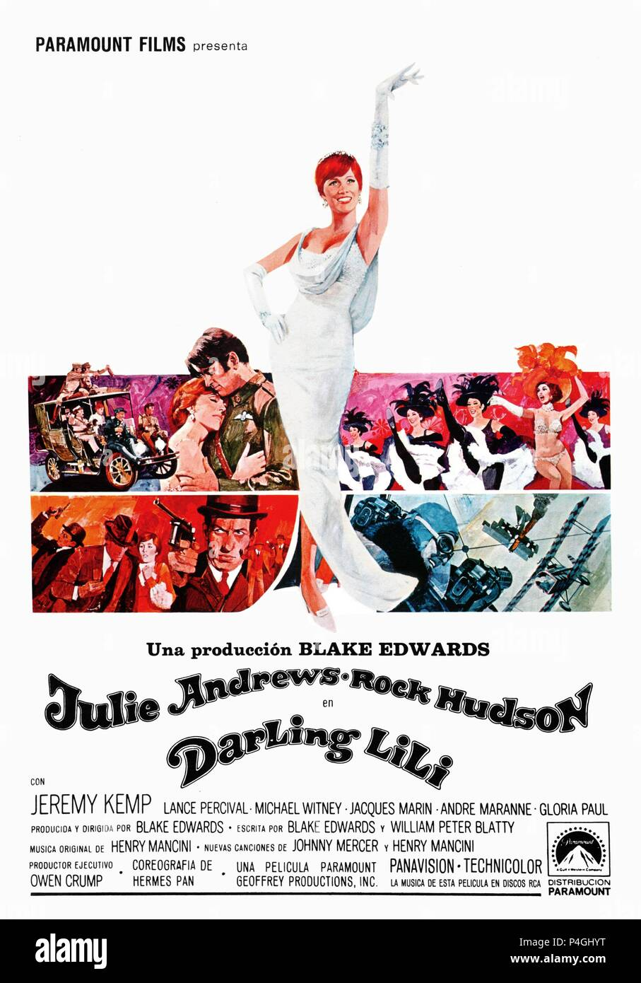 Original Film Title: DARLING LILI.  English Title: DARLING LILI.  Film Director: BLAKE EDWARDS.  Year: 1970. Credit: PARAMOUNT PICTURES / Album - Stock Image