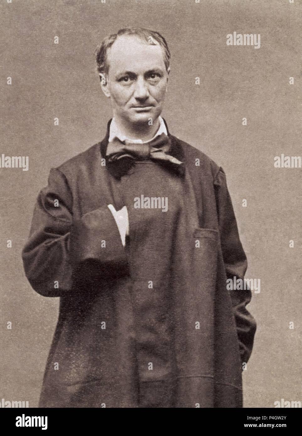 CHARLES BAUDELAIRE (1821-1867 Stock Photo - Alamy