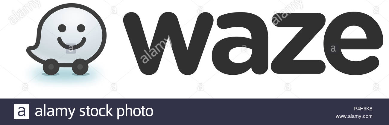 Waze Gps Maps Navigation Logo Stock Photo 209363820 Alamy