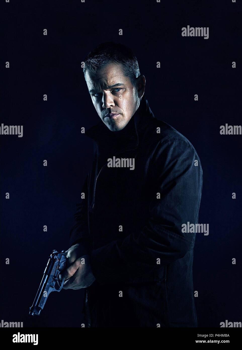 Original Film Title Jason Bourne English Title Jason Bourne Film Director Paul Greengrass Year 2016 Stars Matt Damon Credit Universal Pictures Thekennedy Marshall Company Captivate Ent Album Stock Photo Alamy