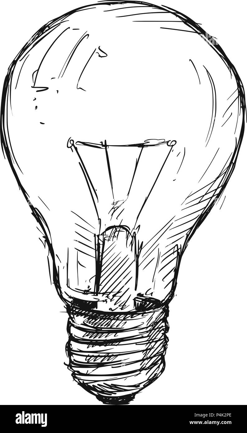 Simple Lightbulb Doodle