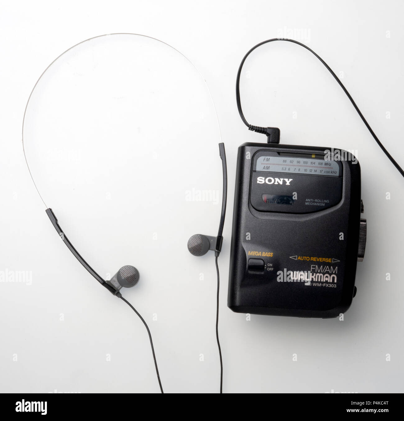 Sony Cassette AM-FM radio Walkman - Stock Image