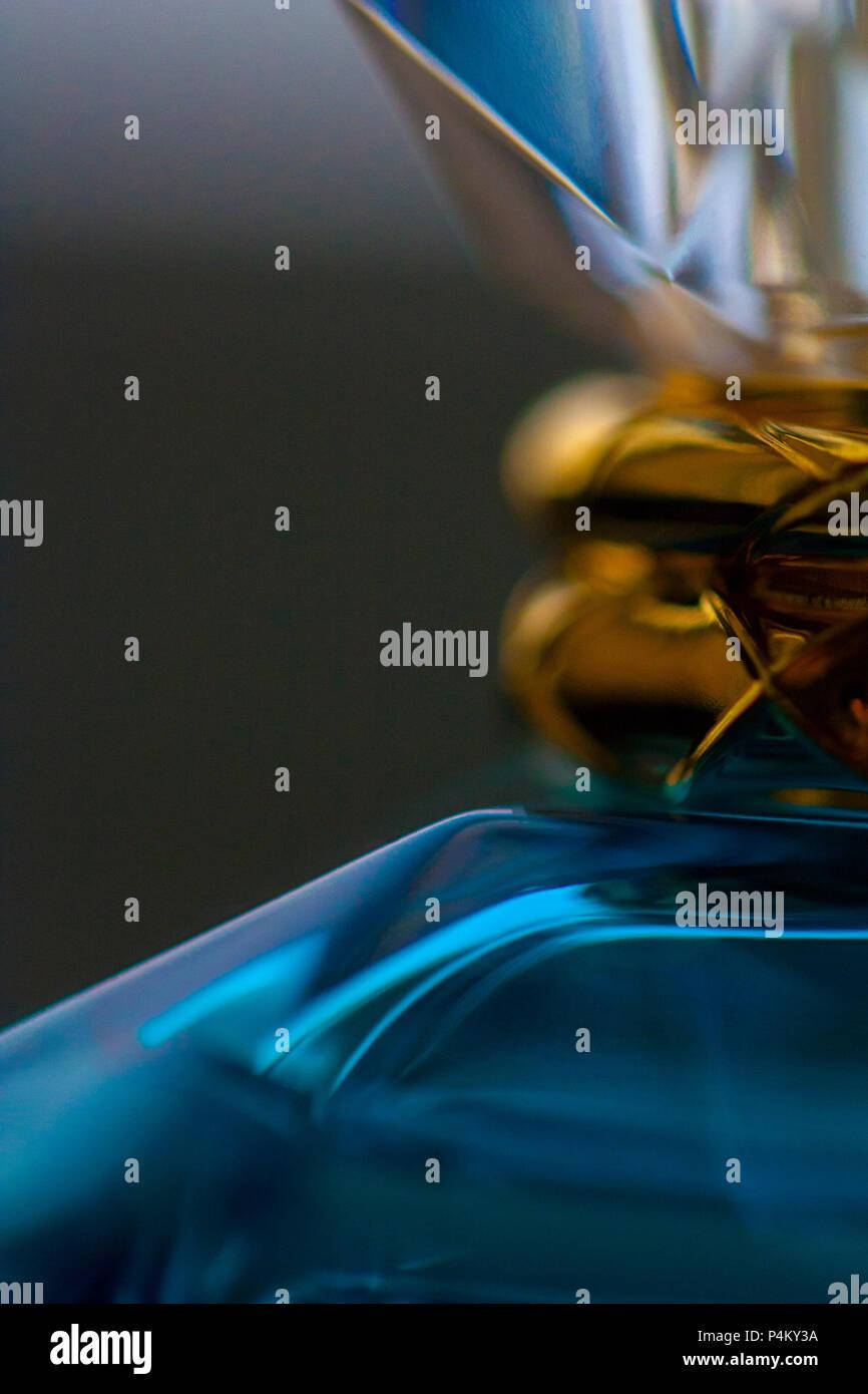 Close up shot of Perfume Bottle - Stock Image