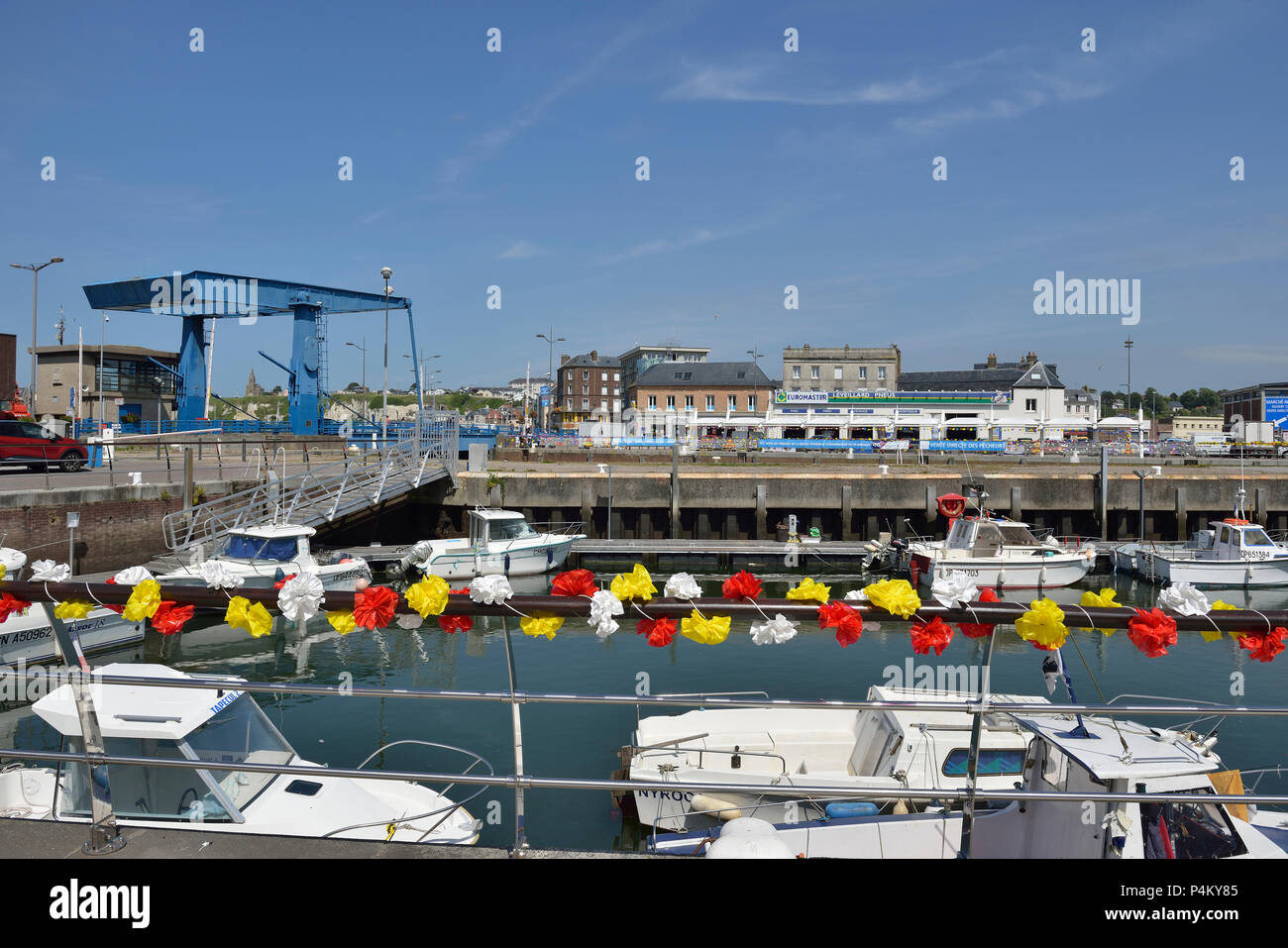 Dieppe, Normandy, France - Stock Image