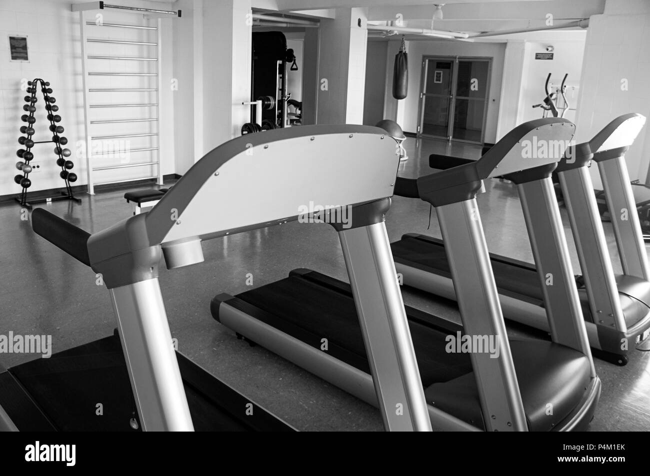 Super Gym Equipment Black And White Stock Photos Images Alamy Gmtry Best Dining Table And Chair Ideas Images Gmtryco