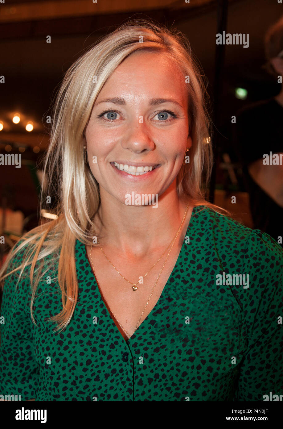 Frida Hansdotter Swedish alpin skier and Olympic Champion - Stock Image