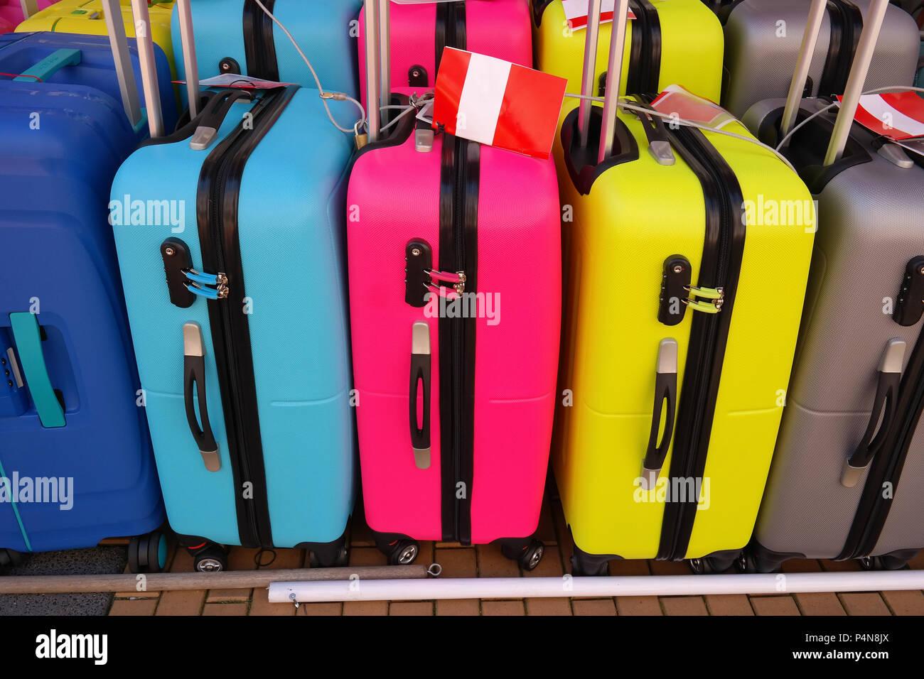 travel suitcase - Stock Image