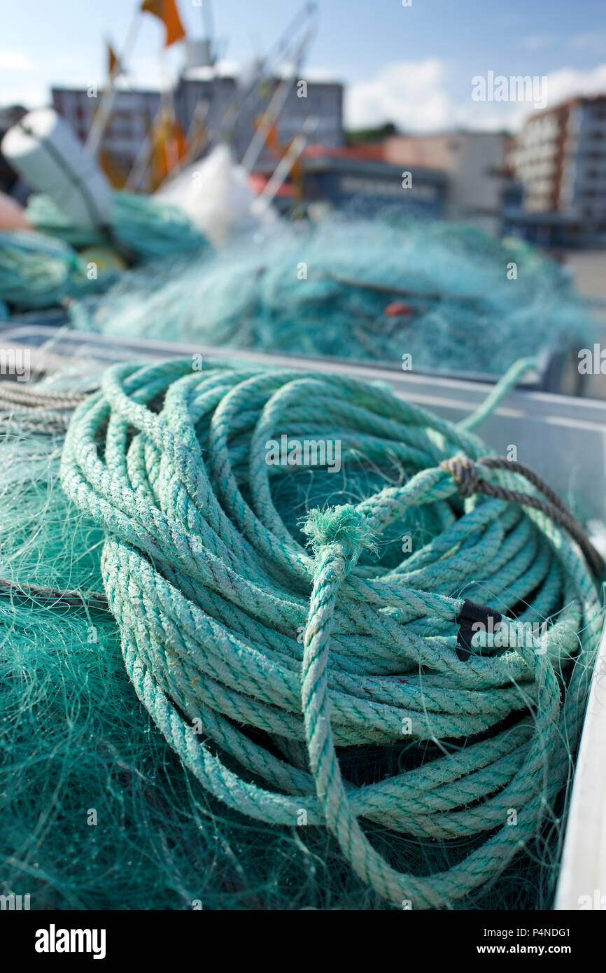 Rope Coil Stock Photos & Rope Coil Stock Images - Alamy
