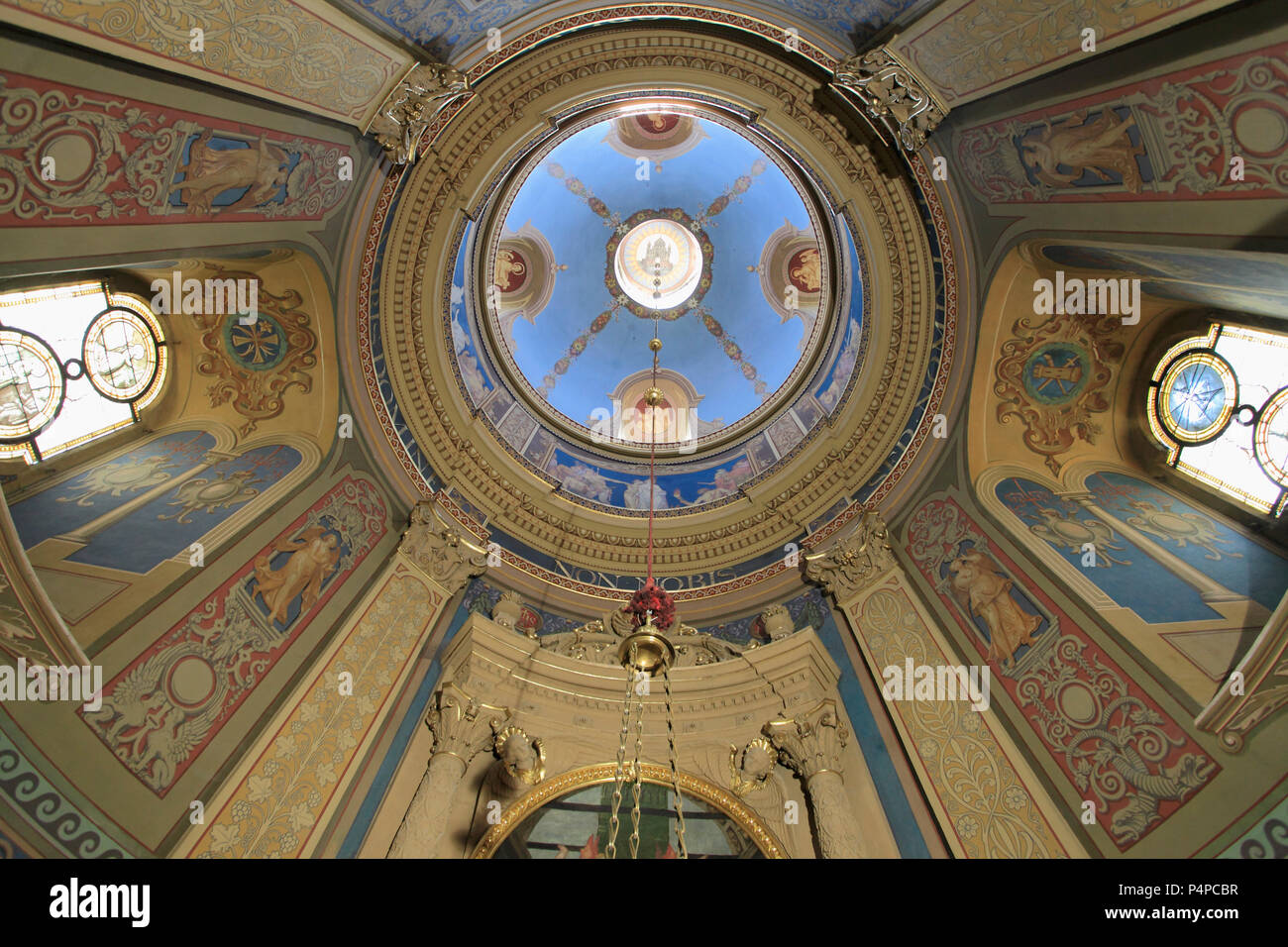 Czech Republic, Olomouc, Archdiocesan Museum, St Barbara Chapel, - Stock Image