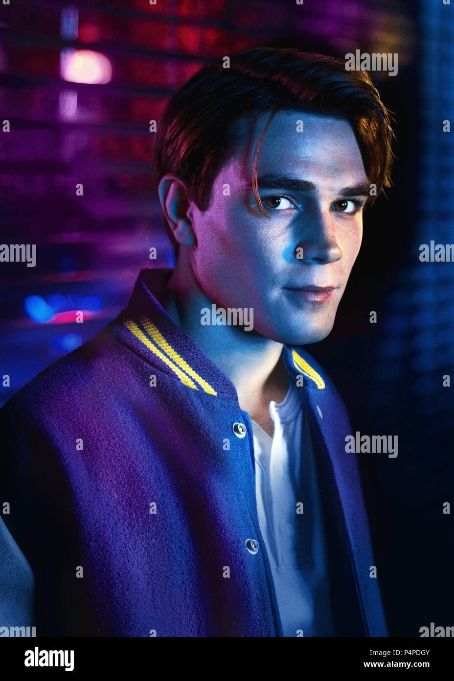 Description: Season 1.  Original Film Title: RIVERDALE.  English Title: RIVERDALE.  Film Director: ROBERTO AGUIRRE-SACASA.  Year: 2017.  Stars: KJ APA. Credit: CBS TELEVISION / Album - Stock Image