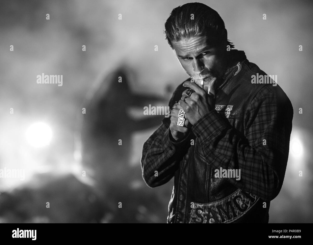 Sons Of Anarchy Hunnam Stock Photos  Sons Of Anarchy -5954