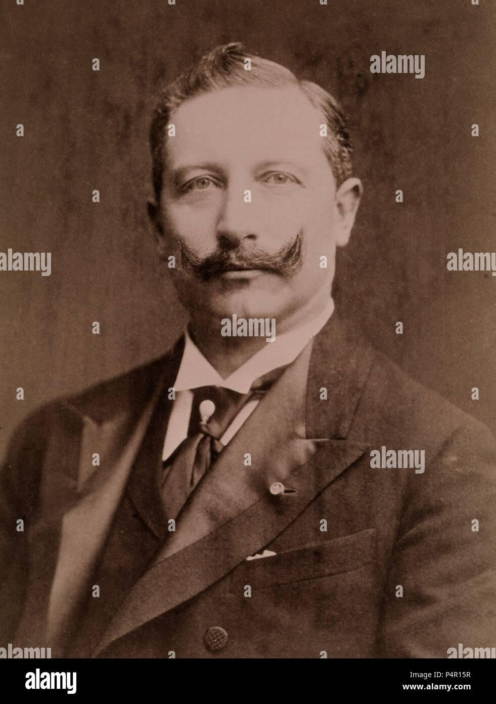 GUILLERMO II DE PRUSIA - EMPERADOR. - Stock Image