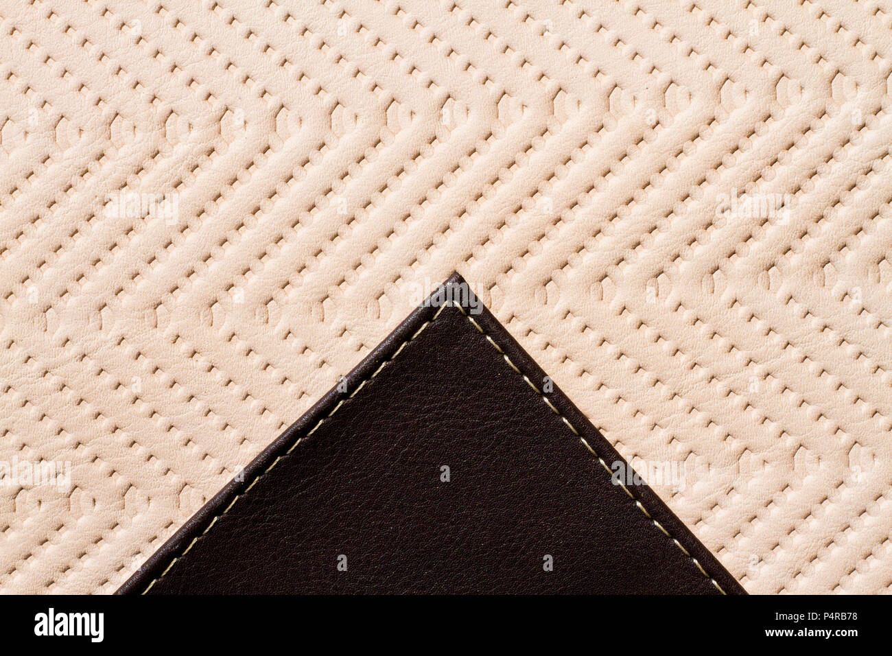 Synthetic material texture close up - Stock Image