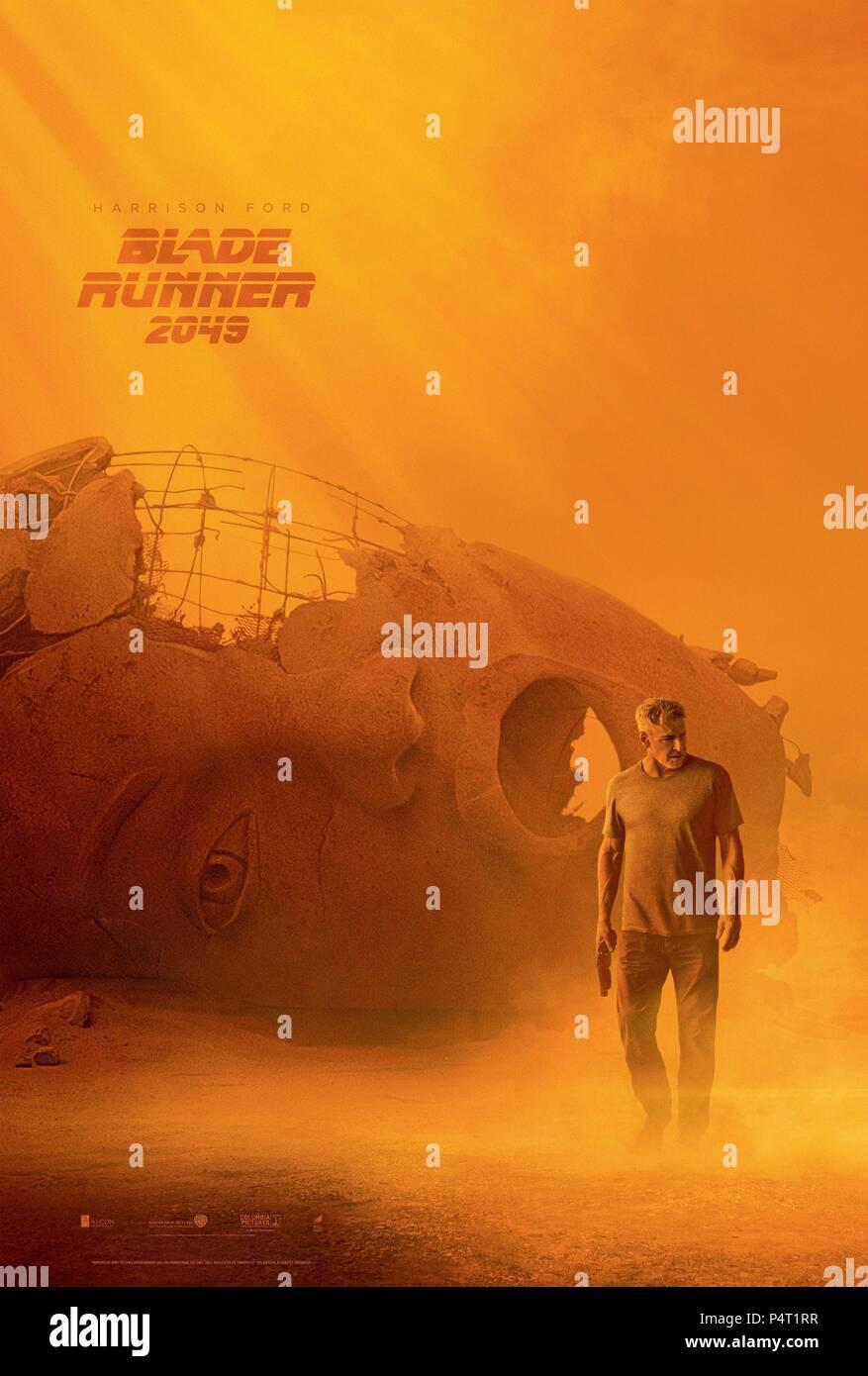 Original Film Title: BLADE RUNNER 2049.  English Title: BLADE RUNNER 2049.  Film Director: DENIS VILLENEUVE.  Year: 2017. Credit: ALCON ENTERTAINMENT/COLUMBIA PICTURES / Album - Stock Image