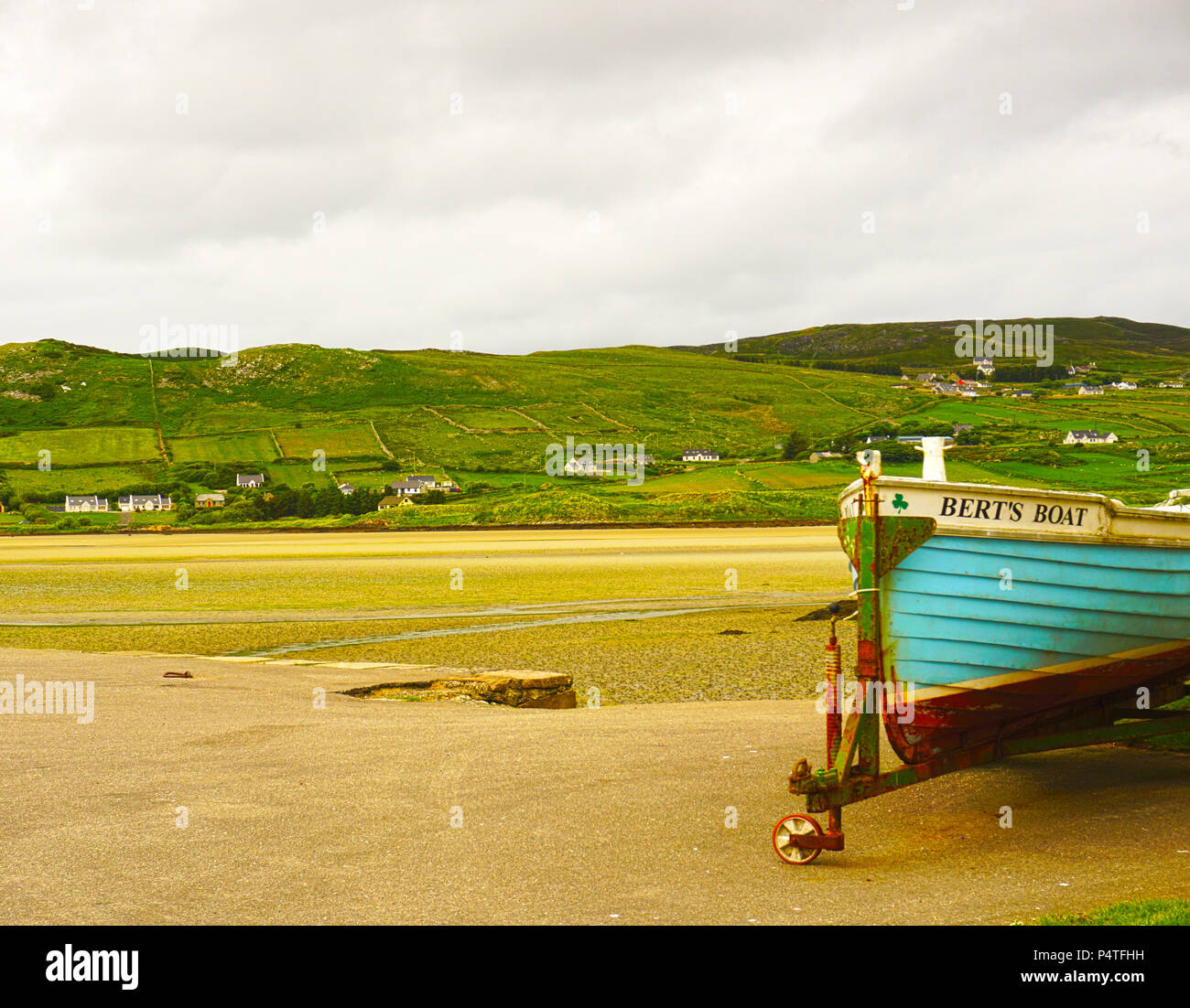 Dunfanaghy, County Donegal, Ireland - Stock Image