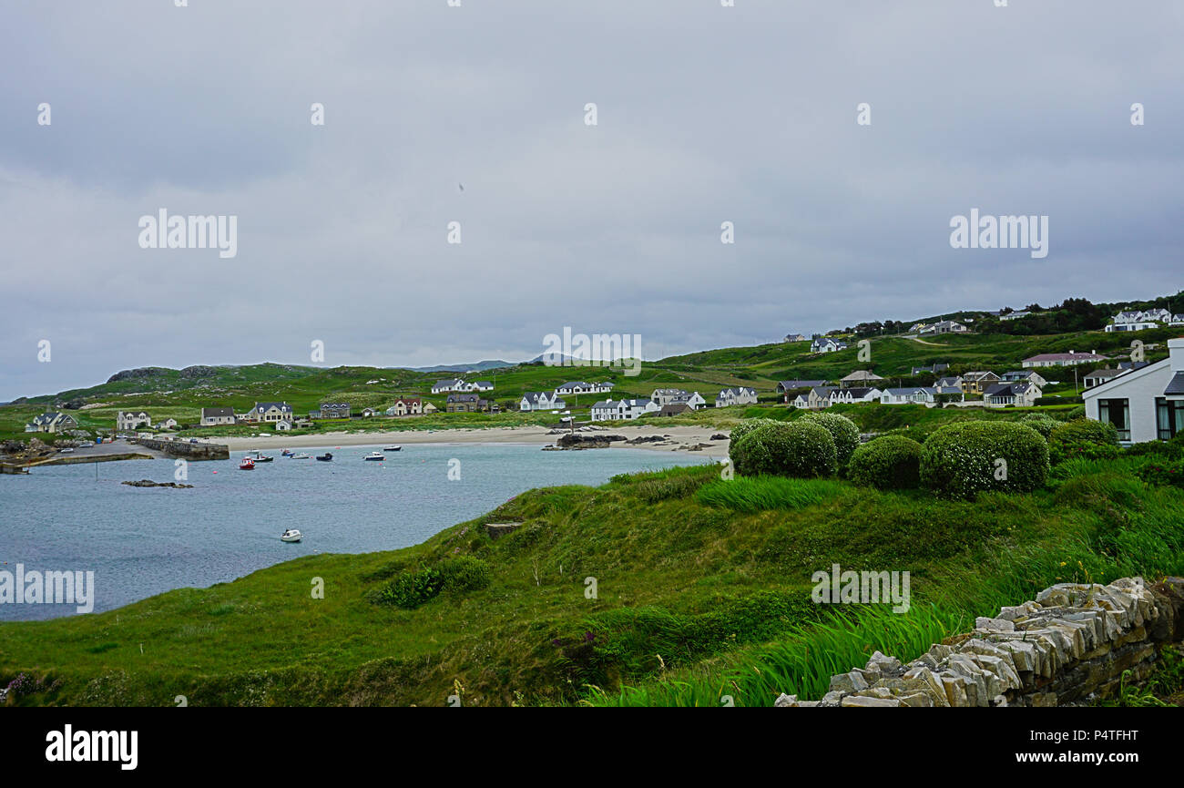 Ireland County Donegal from Dunfanaghy - Stock Image