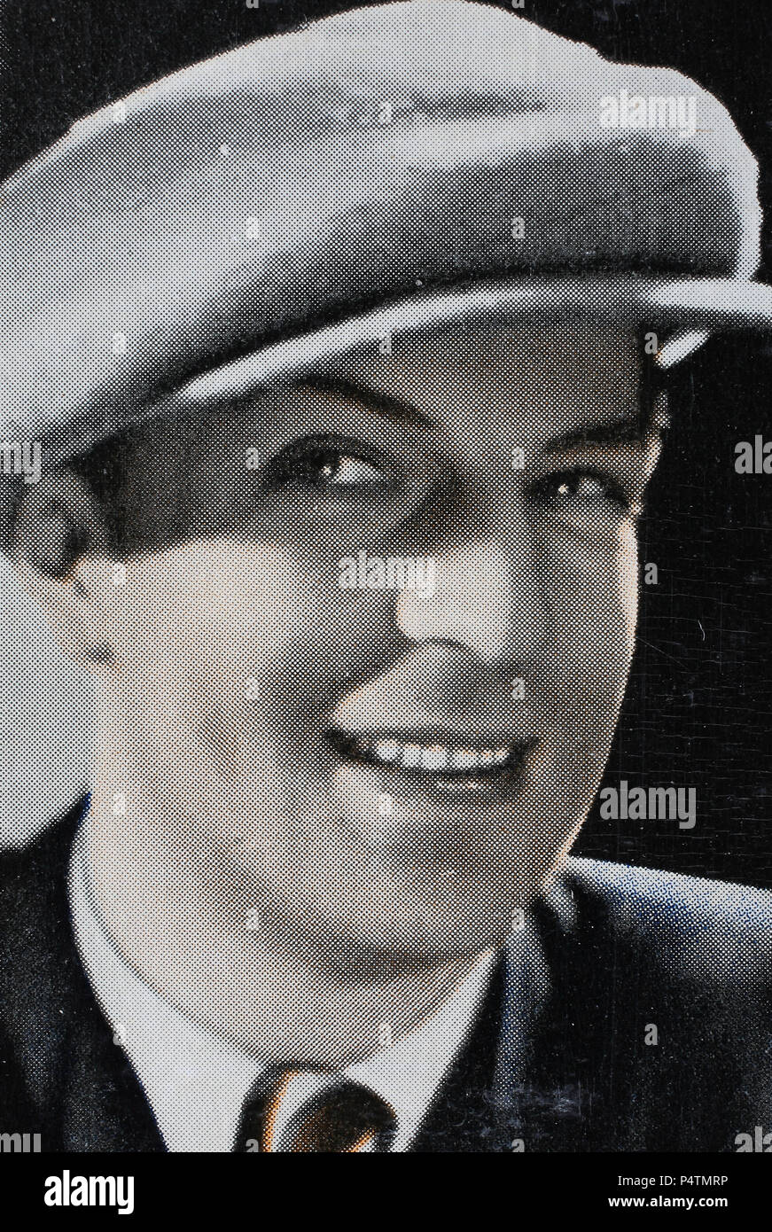 Viktor de Kowa, also spelled Victor de Kowa, born Victor Paul Karl Kowalczyk (8 March 1904 – 8 April 1973) was a German stage and film actor, chanson singer, director, narrator and comic poet., digital improved reproduction of an historical image - Stock Image