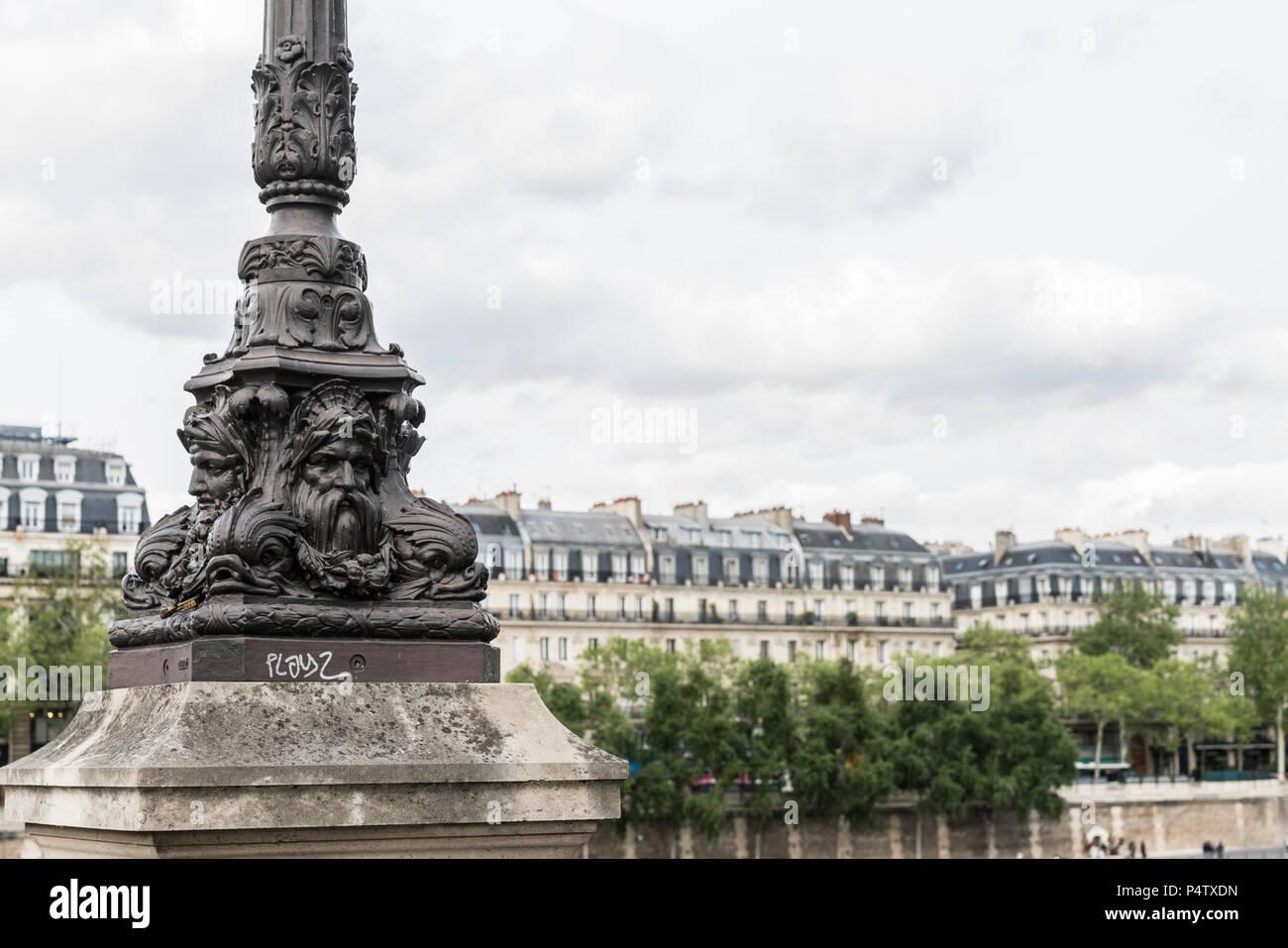 France, Paris, part of Pont au Change - Stock Image