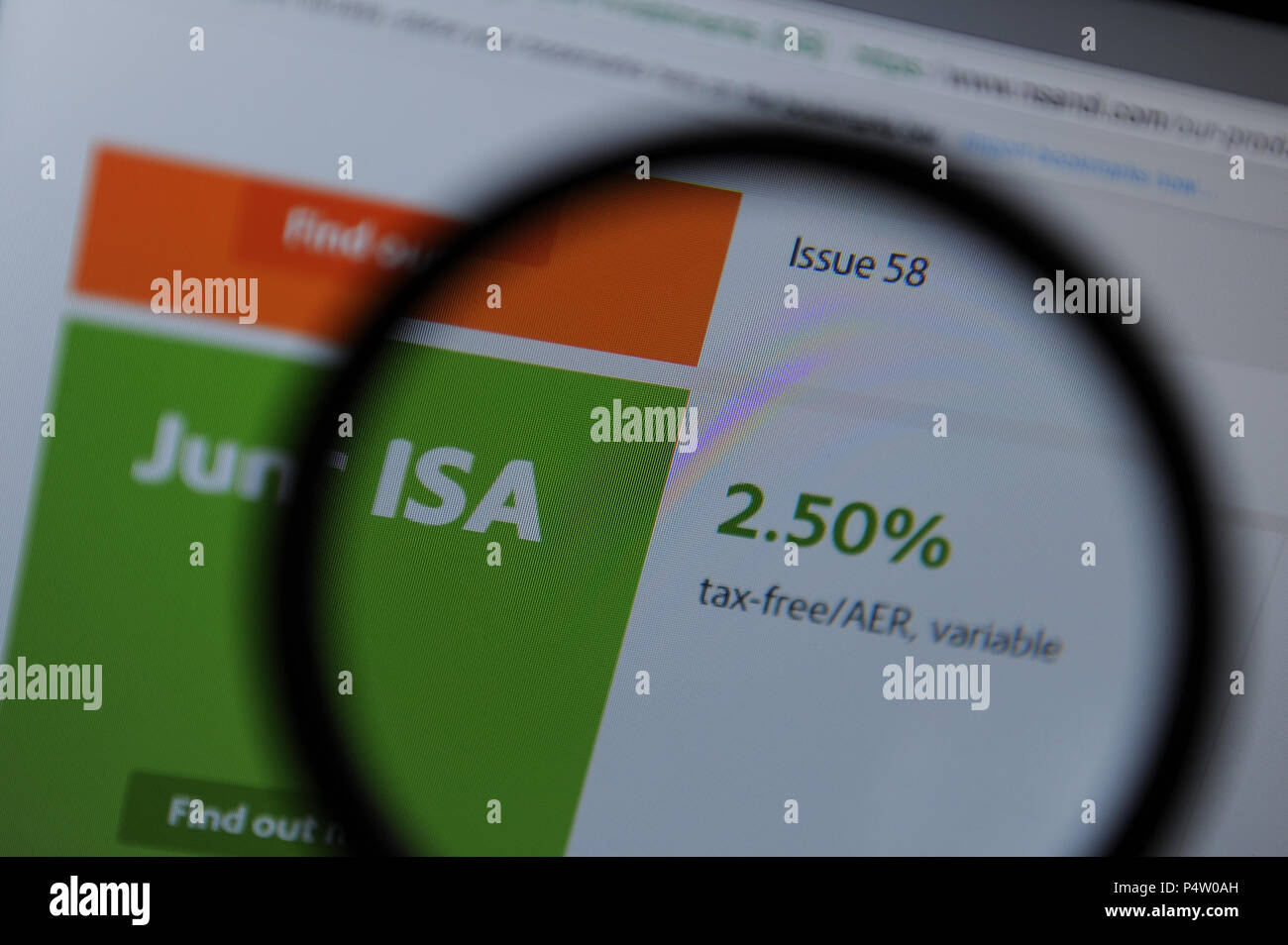 National Savings and Investments - Stock Image