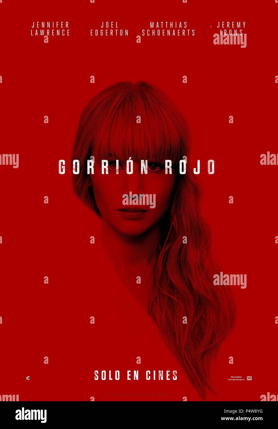RED SPARROW Movie PHOTO Print POSTER Textless Film Art Jennifer Lawrence 002