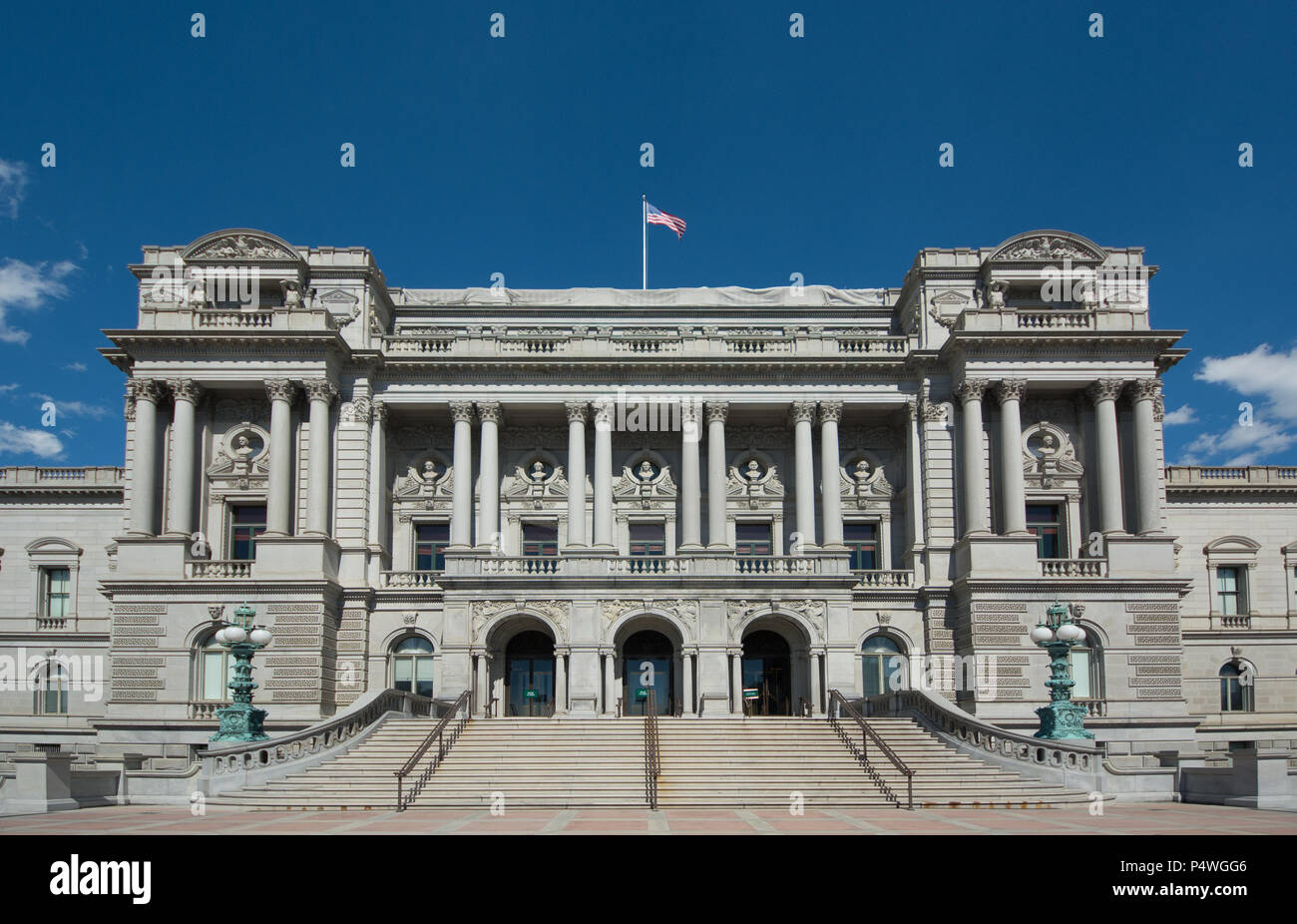 448b451d62 Exterior view of the Library of Congress building