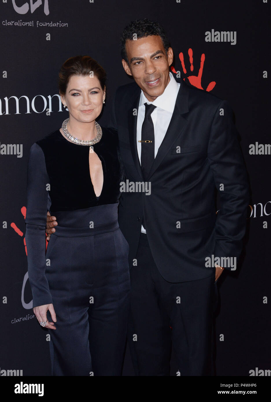 Ellen Pompeo Husband Chris Ivery High Resolution Stock Photography And Images Alamy