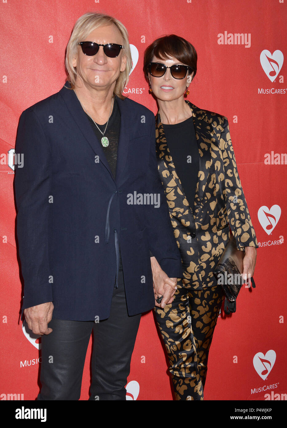 Joe Walsh, Marjorie Bach 156 at the 10th Musicares Benefit