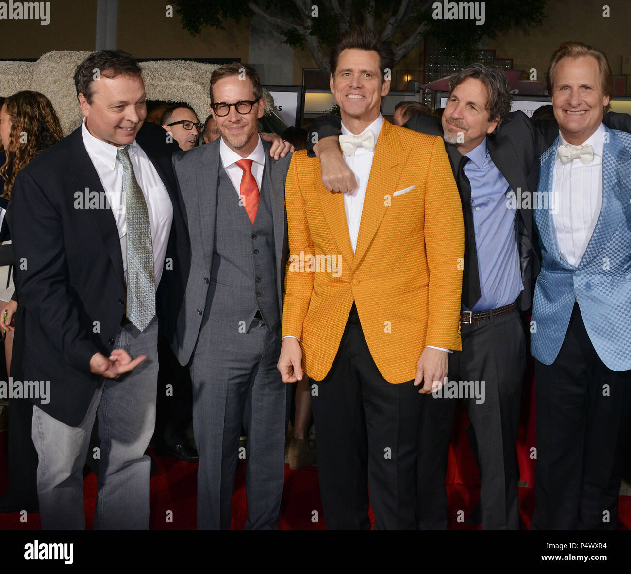 Jim Carrey, Jeff Daniels, Peter and Bobby Farrelly 173 at