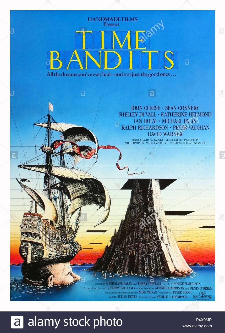 Original Film Title: TIME BANDITS.  English Title: TIME BANDITS.  Film Director: TERRY GILLIAM.  Year: 1981. Credit: HANDMADE FILMS / Album - Stock Image