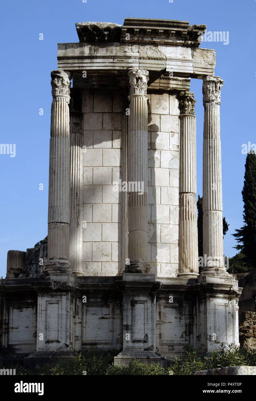 Vesta Temple Alamy amp; Photos Images I Stock qRW6HAq