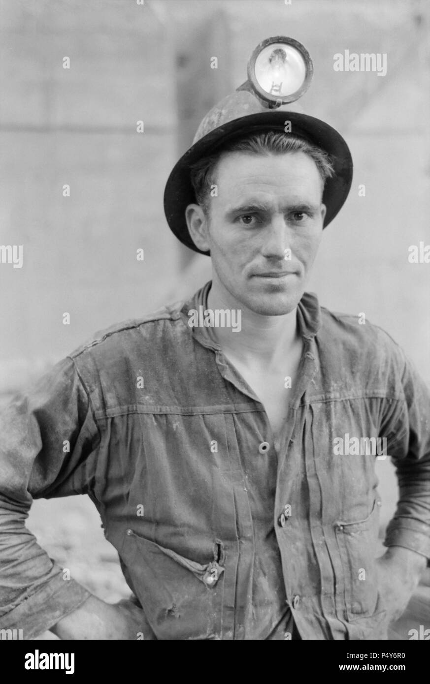 Mine Foreman, Mogollon, New Mexico, USA, Russell Lee, Farm Security Administration, June 1940 - Stock Image