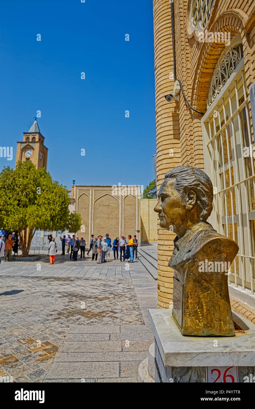 Vank Cathedral statue - Stock Image