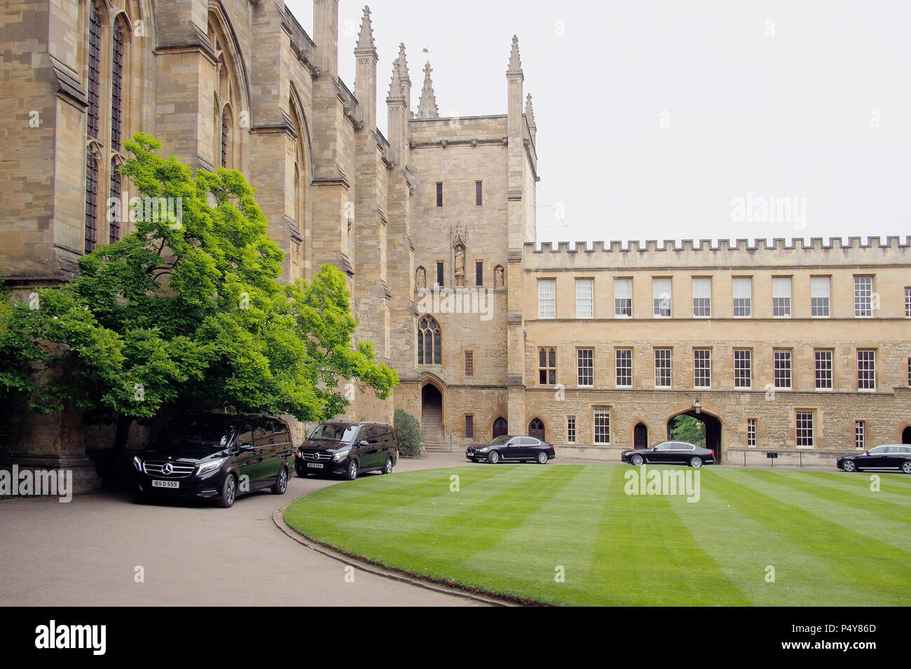 Oxford university in Oxfordshire England UK Stock Photo
