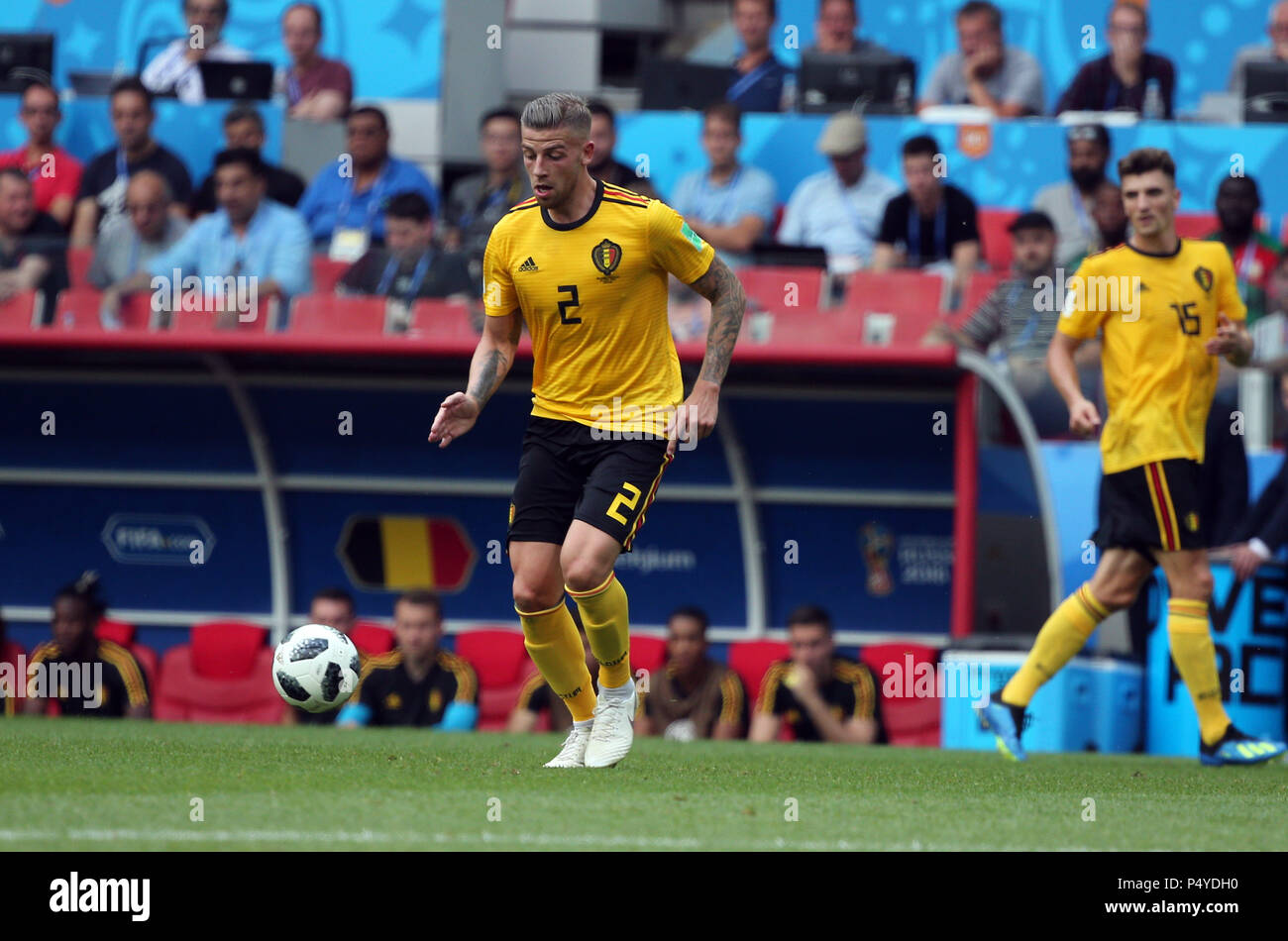 Moscow, Russia. 23rd June 2018. Toby Alderweireld in action during ...