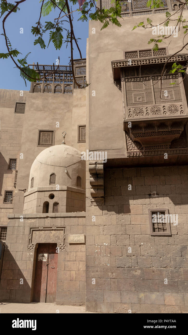 Gayer Anderson Museum, Cairo, Egypt - Stock Image