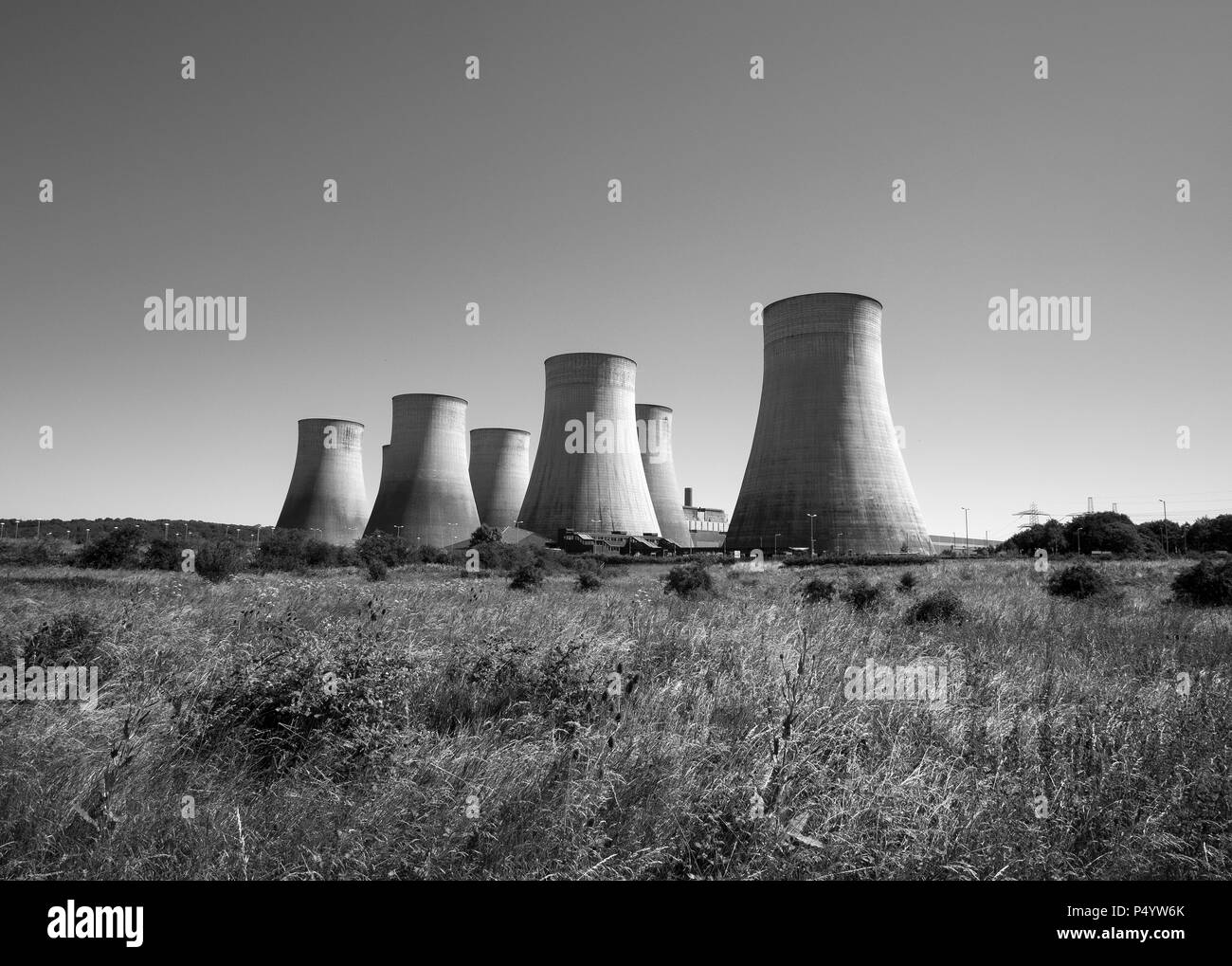 Ratcliffe on Soar power station - Stock Image