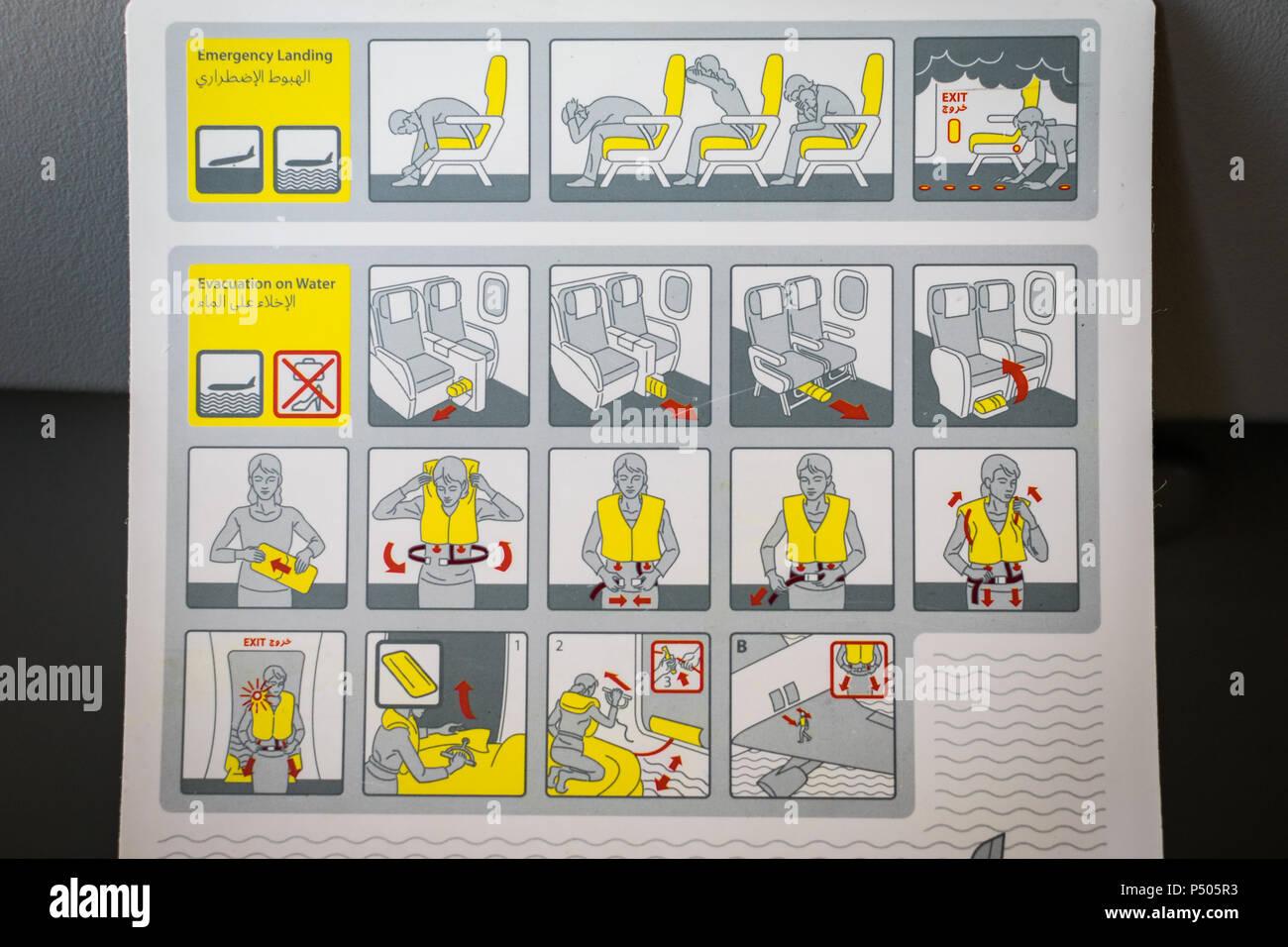 Airplane Evacuation Stock Photos Airplane Evacuation Stock Images